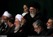 عکس/ سومین شب عزاداری در محضر رهبر انقلاب