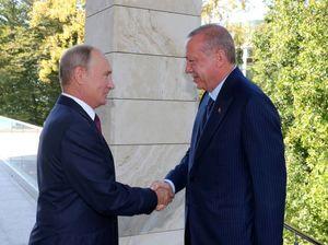 سفر اردوغان به روسیه