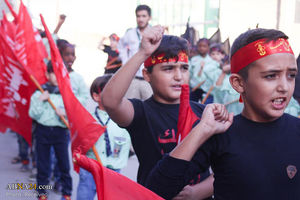 دسته عزاداری حسینی کودکان سوری