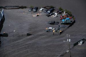 تصاویر هوایی جدید از خسارت طوفان در آمریکا