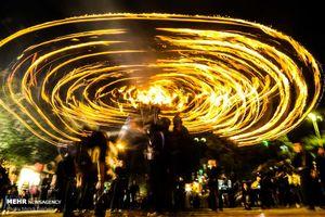 مشعل گردانی نجفی های مقیم قم
