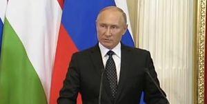 موضع پوتین درباره سرنگونی هواپیمای روس