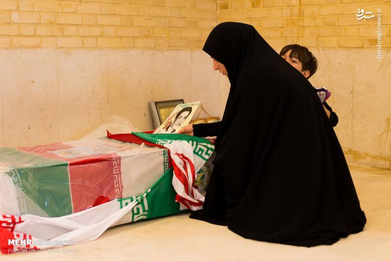 پایان انتظار مادر شهید پس از ۳۳ سال
