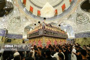 عکس/ شب تاسوعای حسینی (ع) در کربلا