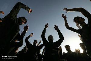 تصاویر و عکسهای روز یوم العباس - اجتماع عظیم حسینیه اعظم زنجان
