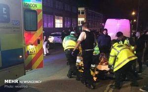 عکس/ حمله به عزاداران حسینی در لندن