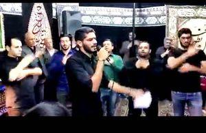 فیلم/ مداحی بازیکن پرسپولیس در شب تاسوعا