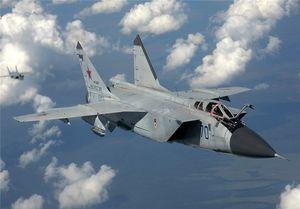 سقوط جنگنده میگ در روسیه