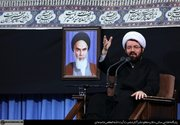 صوت/ سخنرانی حجتالاسلام عالی در محضر رهبر انقلاب