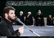 فیلم/ روضهخوانی میثم مطیعی در محضر رهبر انقلاب