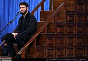 صوت/ مداحی حاج میثم مطیعی در محضر رهبر انقلاب