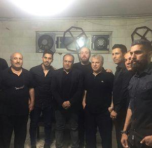 عکس/ میهمانان ویژه هیئت علی پروین