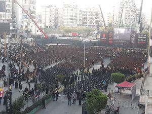 آغاز مراسم عاشورای حسینی (ع) در ضاحیه بیروت+عکس