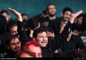 عزاداری شب عاشورای حسینی در امامزاده علیاکبر چیذر محمود کریمی