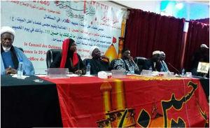 عکس/ مراسم عزای حسینی با حضور شیعیان سنگال