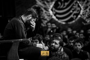 عکس/ وزیر کار سابق در هیئت ریحانه الحسین(ع)