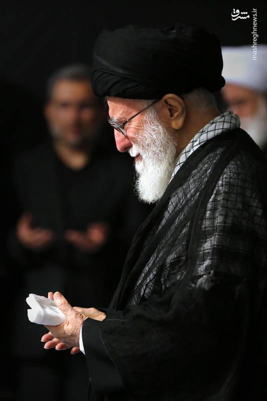 پنجمین شب عزاداری ایام محرم ۱۴۴۰ در حسینیه امام خمینی در حضور رهبر انقلاب