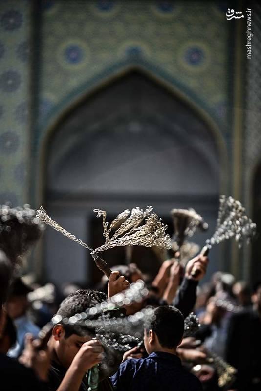 2346547 - حالوهوای حرم حضرت عبدالعظیم در ایام محرم