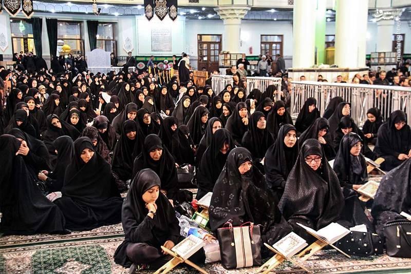 2346548 - حالوهوای حرم حضرت عبدالعظیم در ایام محرم