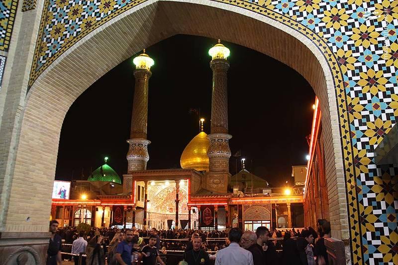 2346557 - حالوهوای حرم حضرت عبدالعظیم در ایام محرم
