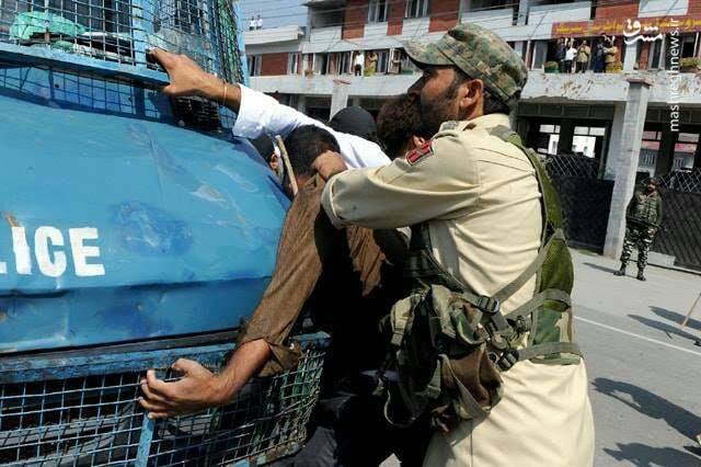 پلیس هند دهها تن از عزاداران حسینی را در شهر سرینگر کشمیر بازداشت کرد