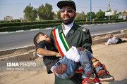 پدر شهید حادثه تروریستی: کودک چهارساله ام فردا قرار بود به مهدکودک برود