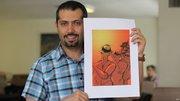 طرح دوپهلو کارتونیست اصلاح طلب از حمله تروریستی اهواز