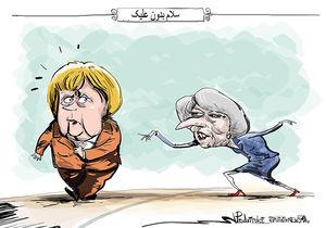 مرکل، «ترزا می» نخست وزیر بریتانیا را تحقیر کرد