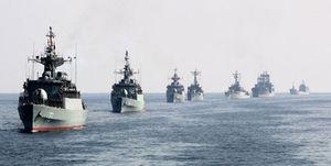 رژه بزرگ نیروهای مسلح در خلیج فارس آغاز شد