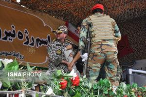 عکس/ جایگاه مراسم رژه اهواز پس از تیراندازی