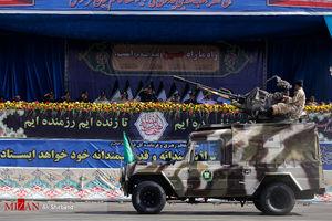 عکس/ رژه بزرگ نیروهای مسلح در تهران