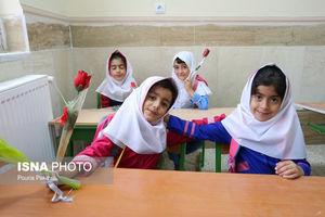 عکس/ بازگشایی مدارس در «سرپل ذهاب»