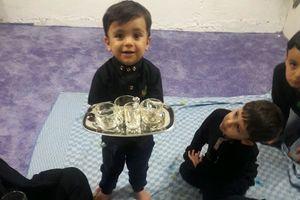 شبی که کوچولوها با امام حسین (ع) بیعت کردند +عکس