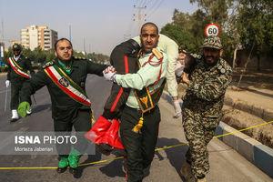 اولین تصاویر از حمله تروریستی در اهواز