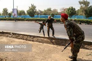 فیلم جدید از لحظه حمله تروریستی در اهواز