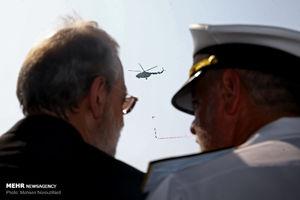 عکس/ رژه نیروهای مسلح بندرعباس با حضور لاریجانی