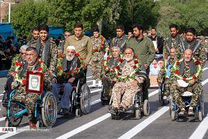 تصاویری قبل از حمله تروریستی به رژه نیروهای مسلح