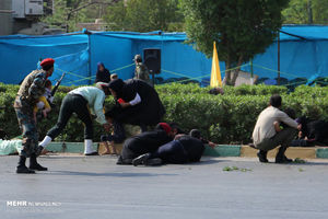 حال و هوای مردم اهواز ساعاتی پس از حادثه