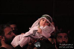صوت/ حسین سیب سرخی؛ شب هفتم محرم ۹۷