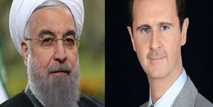 بشار اسد و روحانی