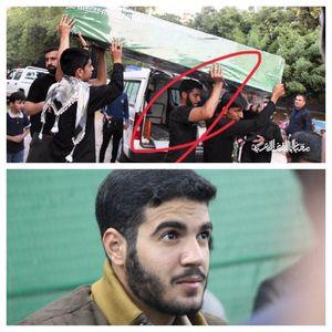 عکس/ شهیدی که هفته گذشته زیر تابوت شهدا بود