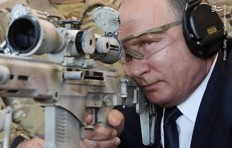 آزمایش یک سلاح جدید روسی توسط پوتین