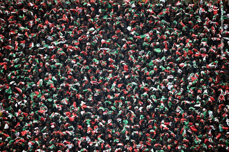 گرامیداشت روز استقلال مکزیک در میدان زوکالو مکزیکوسیتی