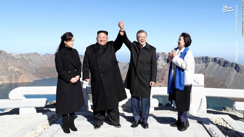 سفر رئیسجمهور کره جنوبی به پیونگیانگ با هدف کاهش تنش میان دو کره. پیشنهاد برگزاری مشترک مسابقات ورزشی بینالمللی از توافقات این دیدار بود