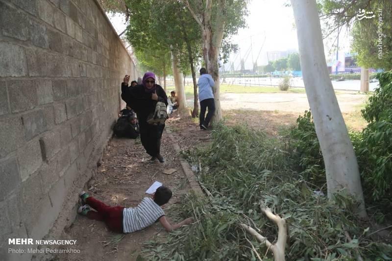 عکس شهدای حادثه تروریستی امروز اهواز