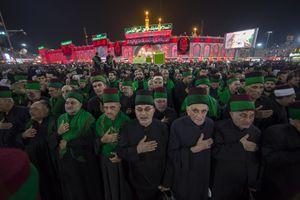 دسته عزاداری سادات حسینی در کربلا