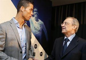 اعتراف رییس باشگاه رئال مادرید درمورد رونالدو