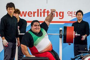 قویترین وزنهبردار معلول آسیا انتخاب شد