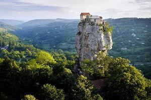 عکس/ خانهای عجیب در گرجستان