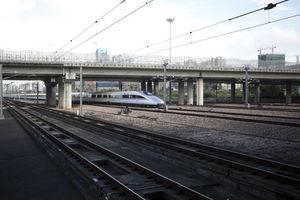 عکس/ اولین قطار سریع السیر هنگ کنگ - چین